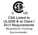CSA UL 2208, Class I Division I Group D