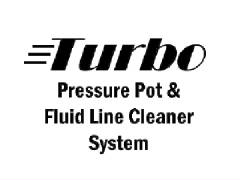 Turbo Pressure Pot & Fluid Line Cleaner System