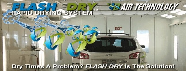 Flash Dry rapid drying system