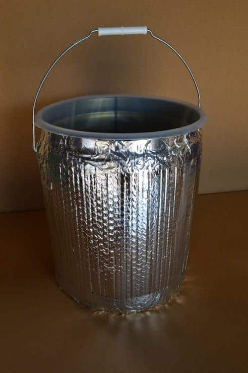 Insulated 5 Gallon Metal Container