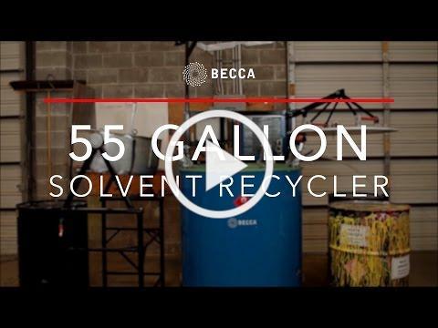 55 Gallon Distillation Recycler video